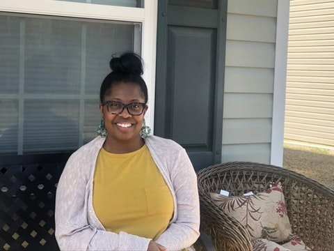 Renita Webb, of Alamance County, is in the health care coverage gap and wants NC lawmakers to join other states in expanding Medicaid to adults like her (Image via Sarah Ovaska/Cardinal & Pine)