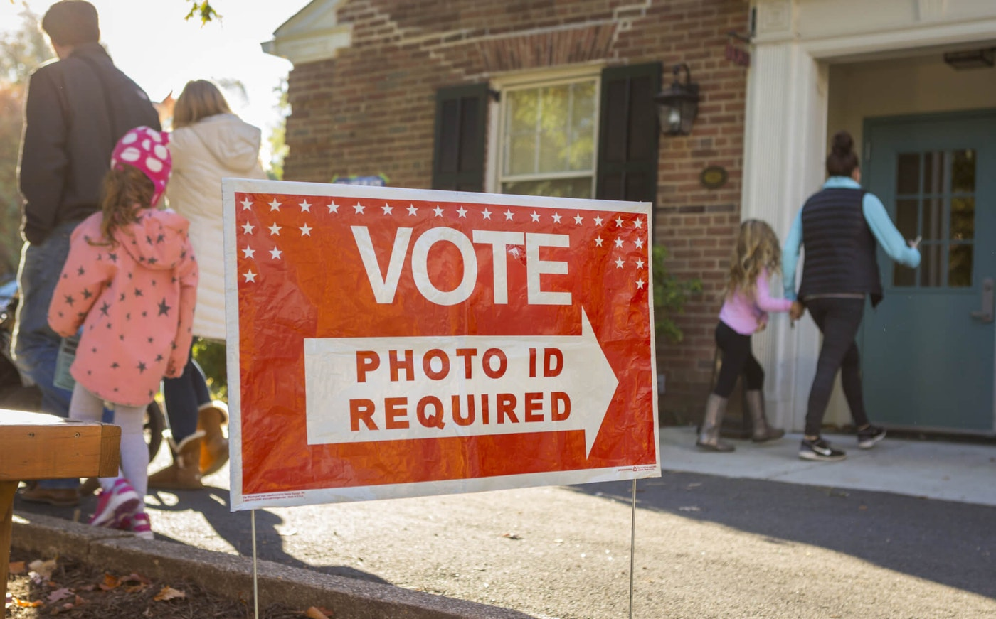 Virginia residents don't need a photo ID anymore when they go to vote.