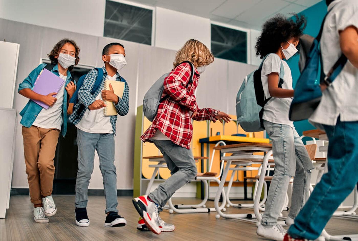 As North Carolina schools reopen, public health leaders will face pressure to require the COVID-19 vaccine. (Image via Shutterstock)
