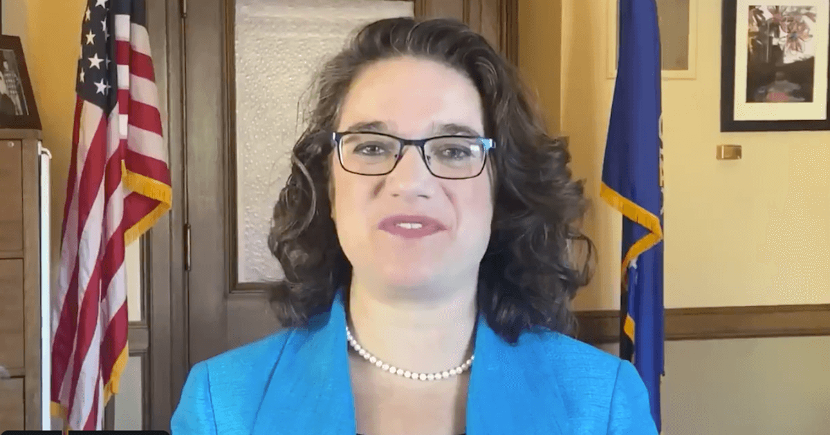Rep. Melissa Sargent from a video in which she announces her campaign for State Senate (@Melissa4Senate)