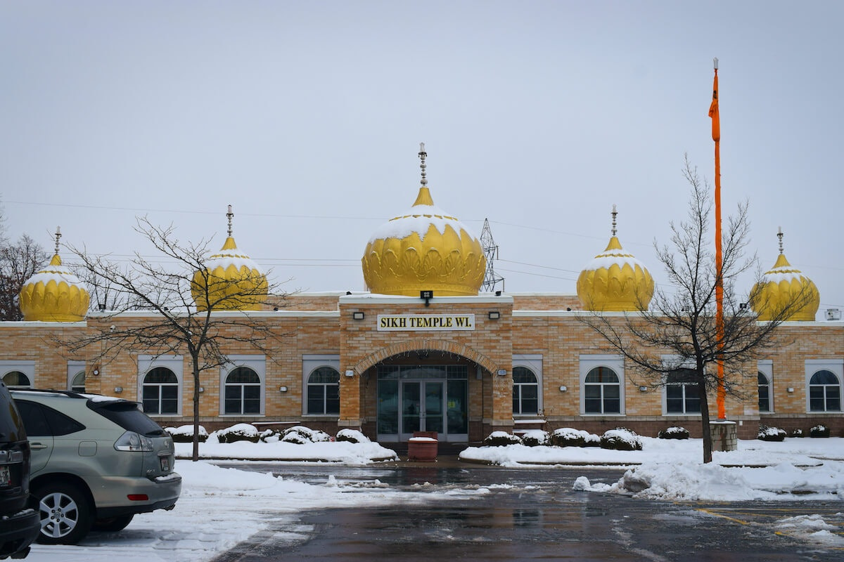 The Sikh Temple of Wisconsin is shown Thursday afternoon in Oak Creek. The temple was the site of an Aug. 5, 2012, mass shooting, one of the most shocking and heinous acts of hate in Wisconsin's history. (Photo by Jonathon Sadowski)