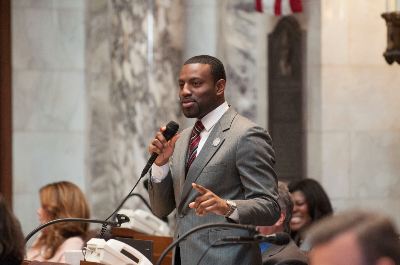 State Rep. David Bowen, D-Milwaukee, announced on Monday that he has tested positive for COVID-19. (Photo courtesy  Rep. Bowen's office)
