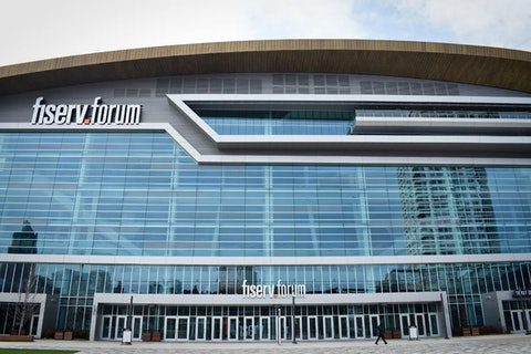 Fiserv Forum in Milwaukee (Photo by Jonathon Sadowski)