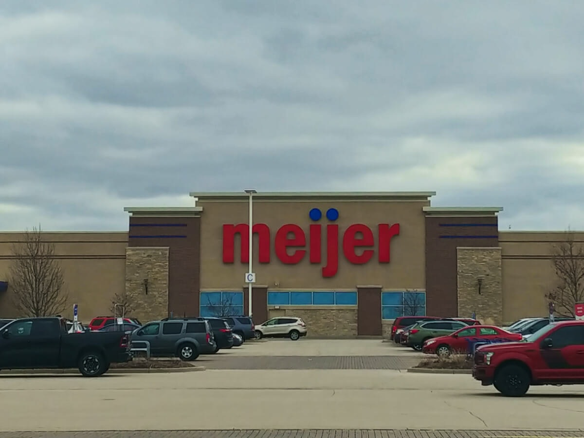 Meijer in Oak Creek on Friday. (Photo by Jonathon Sadowski)