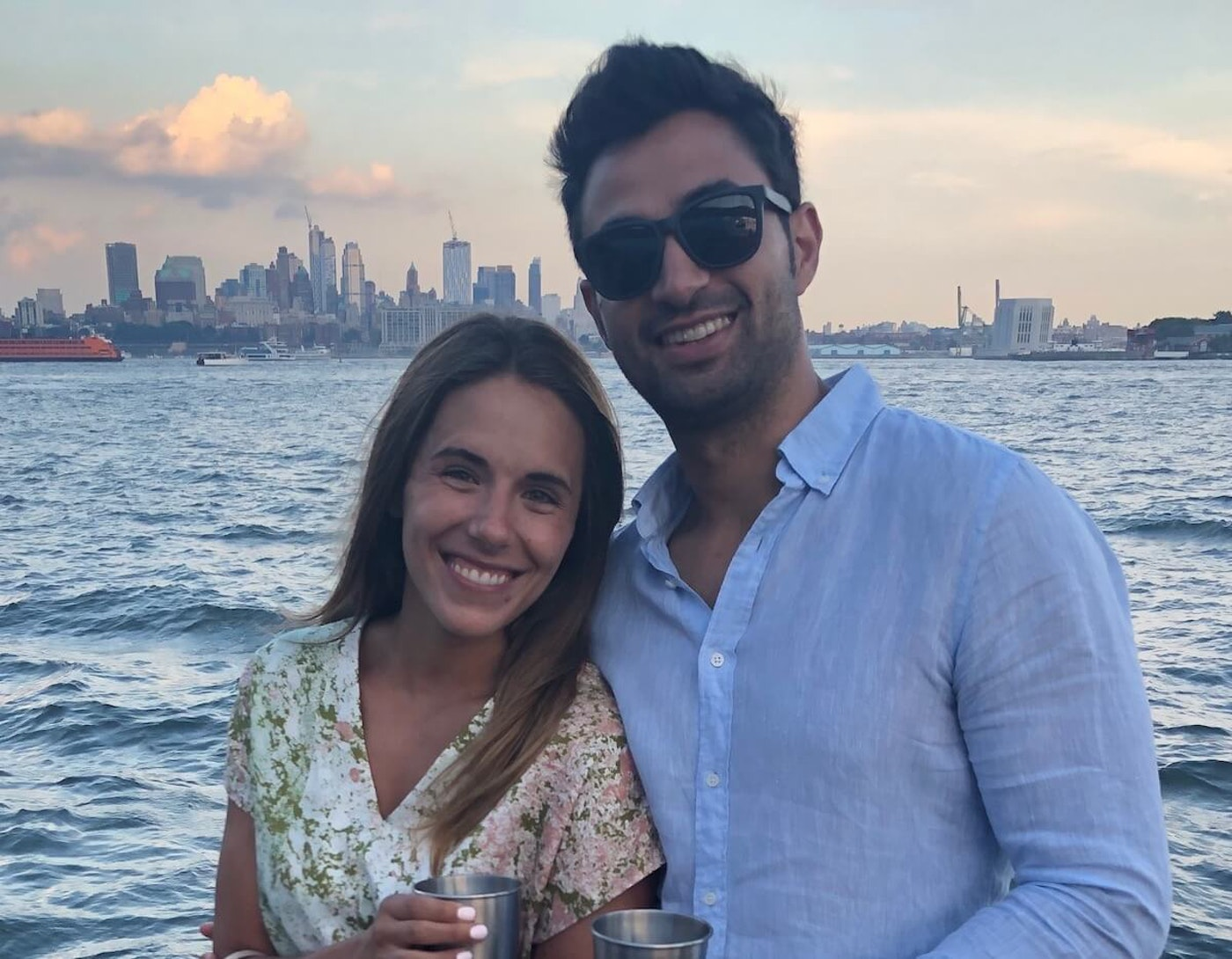 Eau Claire native Megan La Barbera and her fiancé César Gutiérrez Fernández are living in Madrid, Spain, where residents are on virtual lockdown. (Contributed photo)