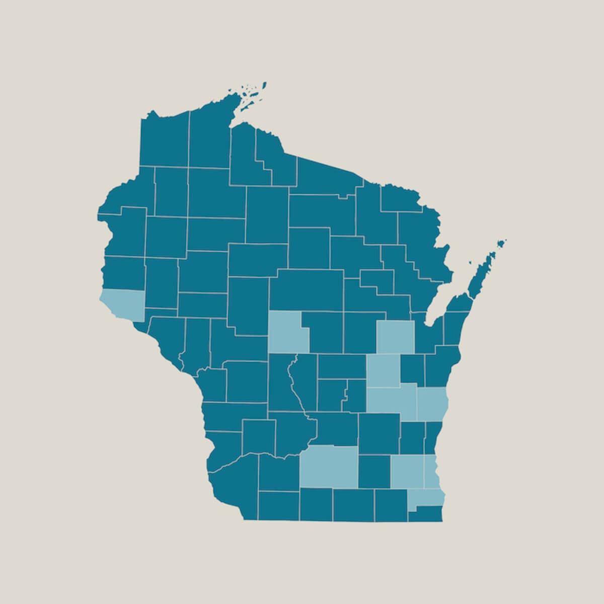 COVID-19, the illness that stems from coronavirus, has affected people from Dane, Fond du Lac, Milwaukee, Outagamie, Pierce, Racine, Sheboygan, Waukesha, Winnebago, and Wood counties.