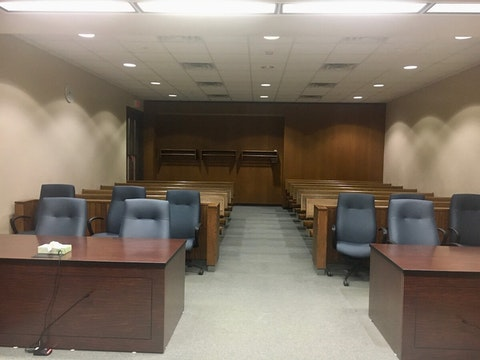 A courtroom in the Eau Claire County Courthouse. (Contributed photo)
