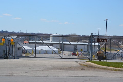 JBS Packerland meatpacking plant in Green Bay, WI