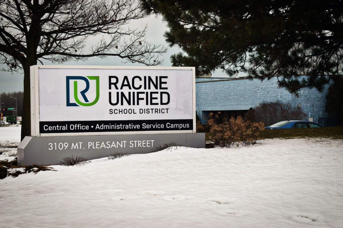 The Racine Unified School District has a referendum on the ballot in Tuesday's election that would give $1 billion over the next 30 years. If approved, it will pump funds into the district annually through the 2050-51 school year to help build new schools, upgrade programs, and increase equity across the district's nearly 30 schools. (Photo by Jonathon Sadowski)