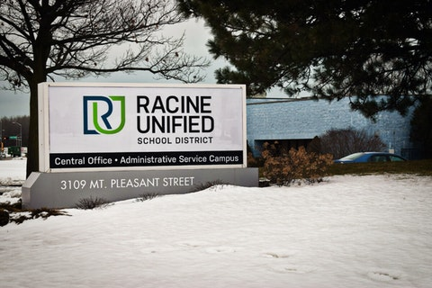 The Racine Unified School District will reopen for in-person learning next Tuesday. (Photo by Jonathon Sadowski)