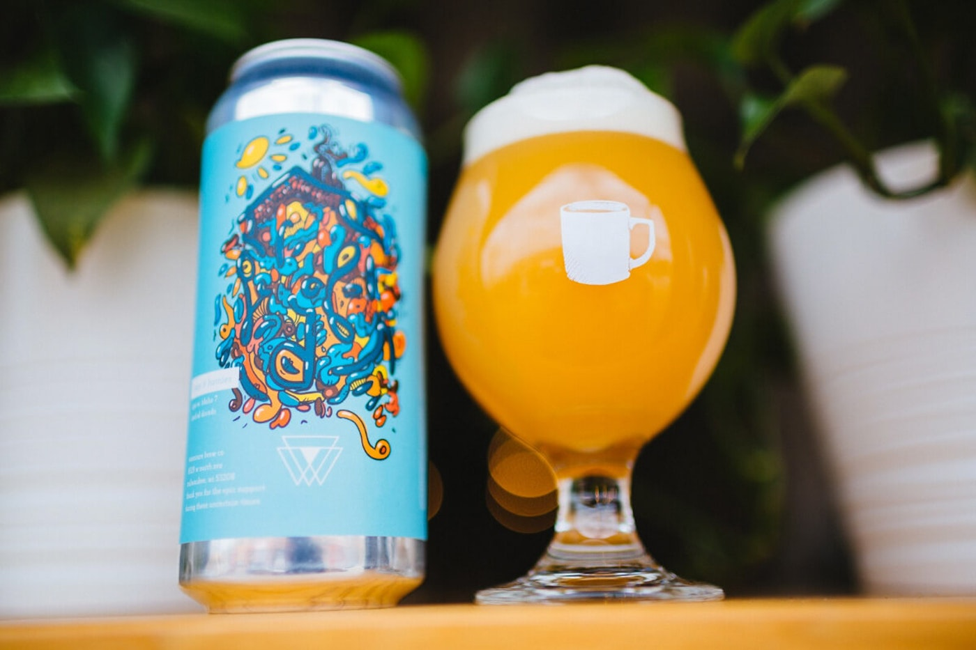 Vennture Brew Co. in Milwaukee released Stay at Homies, a New England India pale ale, last week. Its name was inspired by the coronavirus outbreak. (Photo courtesy Vennture Brew Co.)