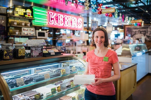 Theresa Nemetz began Milwaukee Food Tours in 2008 to tell the stories of city history, culture and more through indie owned businesses. (Photo from Milwaukee Food and City Tours)