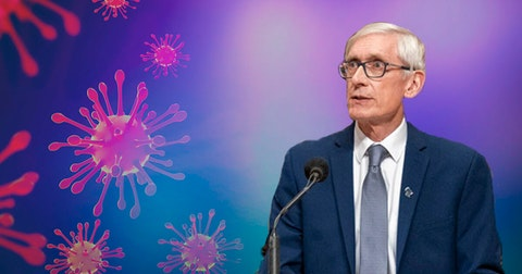 As COVID-19 cases hit single-day record in Wisconsin, Gov. Tony Evers is weighing his options over whether to extend mask mandate.