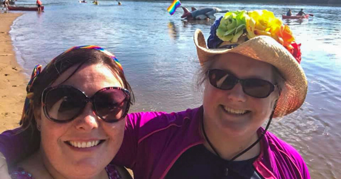 COVID-19 Canceled Most Gay Pride Events. This Couple Created Their Own.