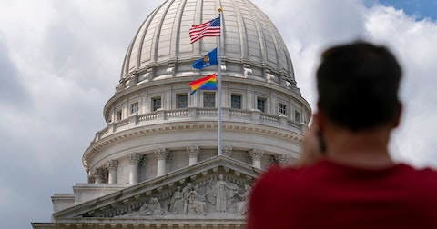 Rainbow Pride Flag Will Fly Again Over Capitol Throughout June