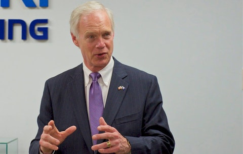 Ron Johnson Says He's Against More Stimulus Checks, Calls Masks 'a Courtesy'
