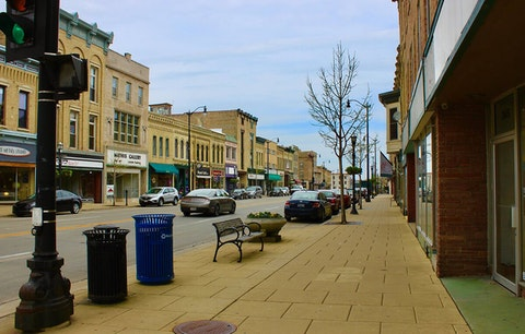 Downtown Racine (Photo via Facebook/City of Racine)
