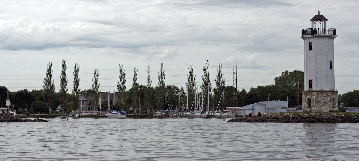 This view of Lake Winnebago is from Fond du Lac's Lakeside Park.