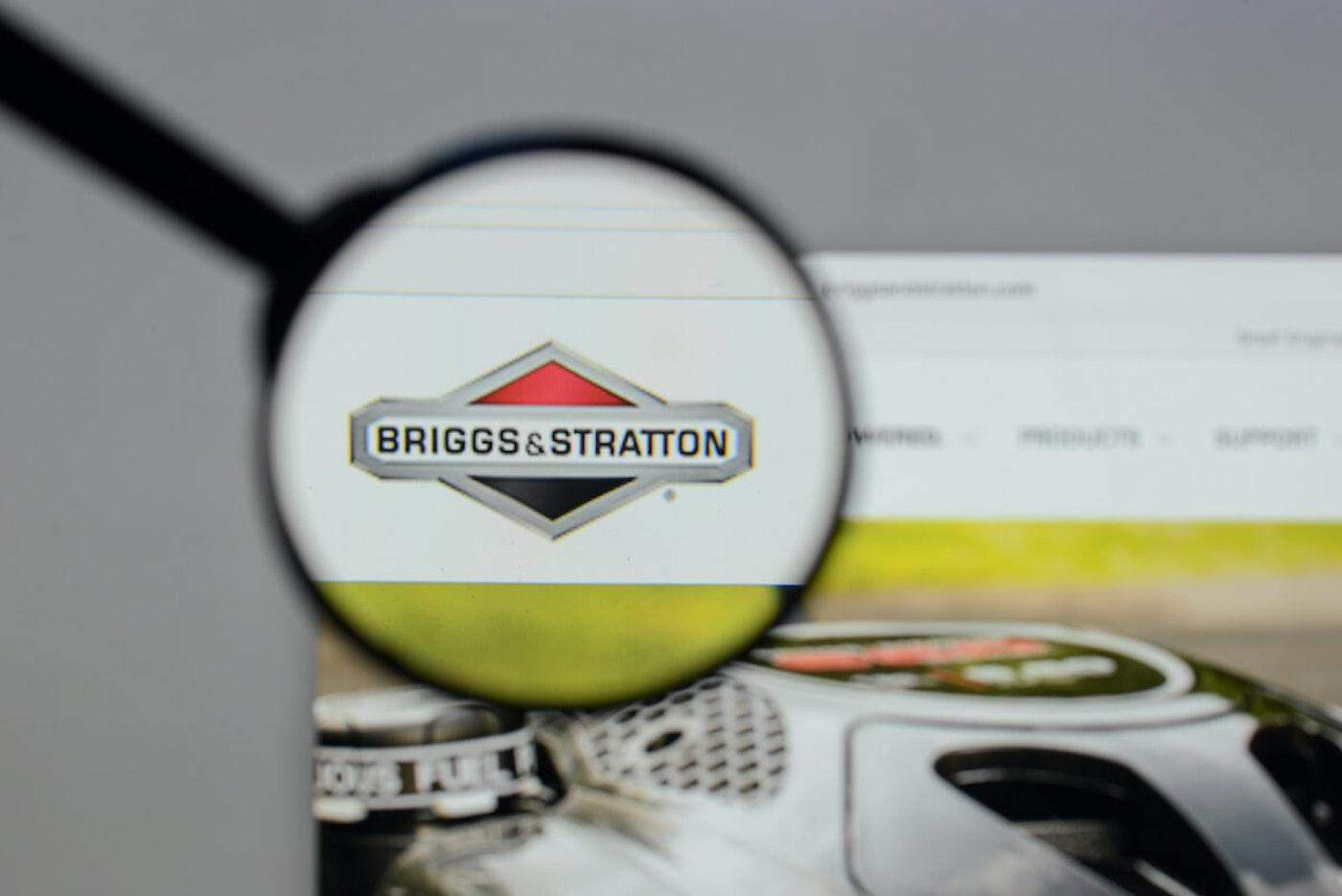 Briggs and Stratton Logo. (Image via Shutterstock)