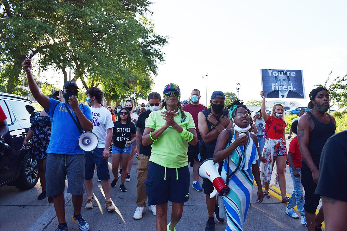 Milwaukee Protest Group Has Marched for 50 Days Straight. They Won't Stop.