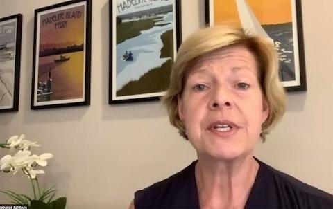 Baldwin Slams GOP For Dragging Feet on Latest COVID Relief Bill
