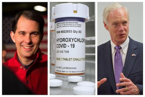 Johnson, Walker Push Hydroxychloroquine Despite No Evidence of Its Effectiveness to Treat COVID