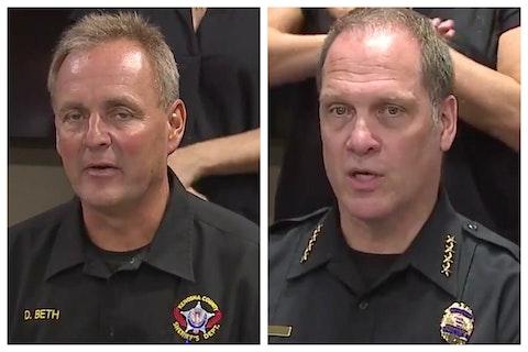 ACLU Kenosha Sheriff Police Chief Resign