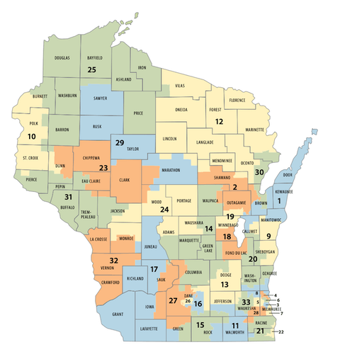 Racine County to Residents: We Don't Need Your Voice In Deciding Fair Maps