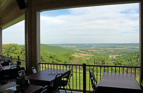 Vino Over the Valley in Arcadia, Wis.