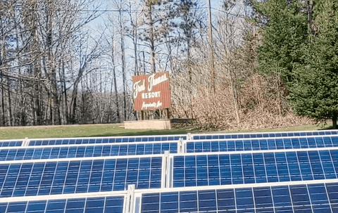 Fred Thomas resort solar array
