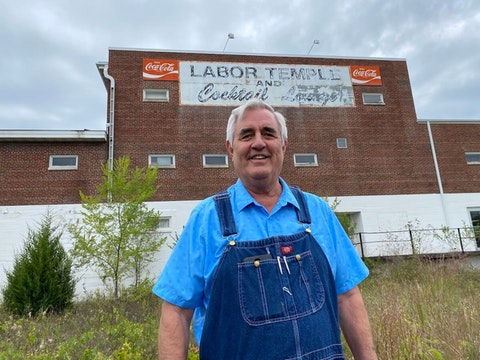 Phil Swanhorst, president of the Greater West Central Area Labor Council, which serves nine counties in west-central Wisconsin, said the coronavirus pandemic this year has shown the value of the many essential workers who often are taken for granted. (Photo by Julian Emerson)