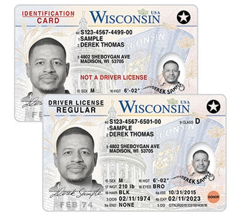Wisconsin ID cards