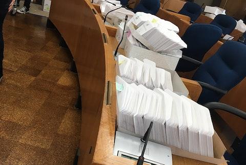 Madison absentee ballots