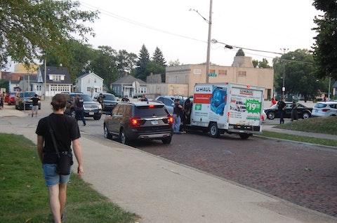 U-Haul taken by police