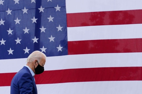 Biden's climate change plan is specifically focused on building a US economy around preventing further climate change (AP Photo/Patrick Semansky).