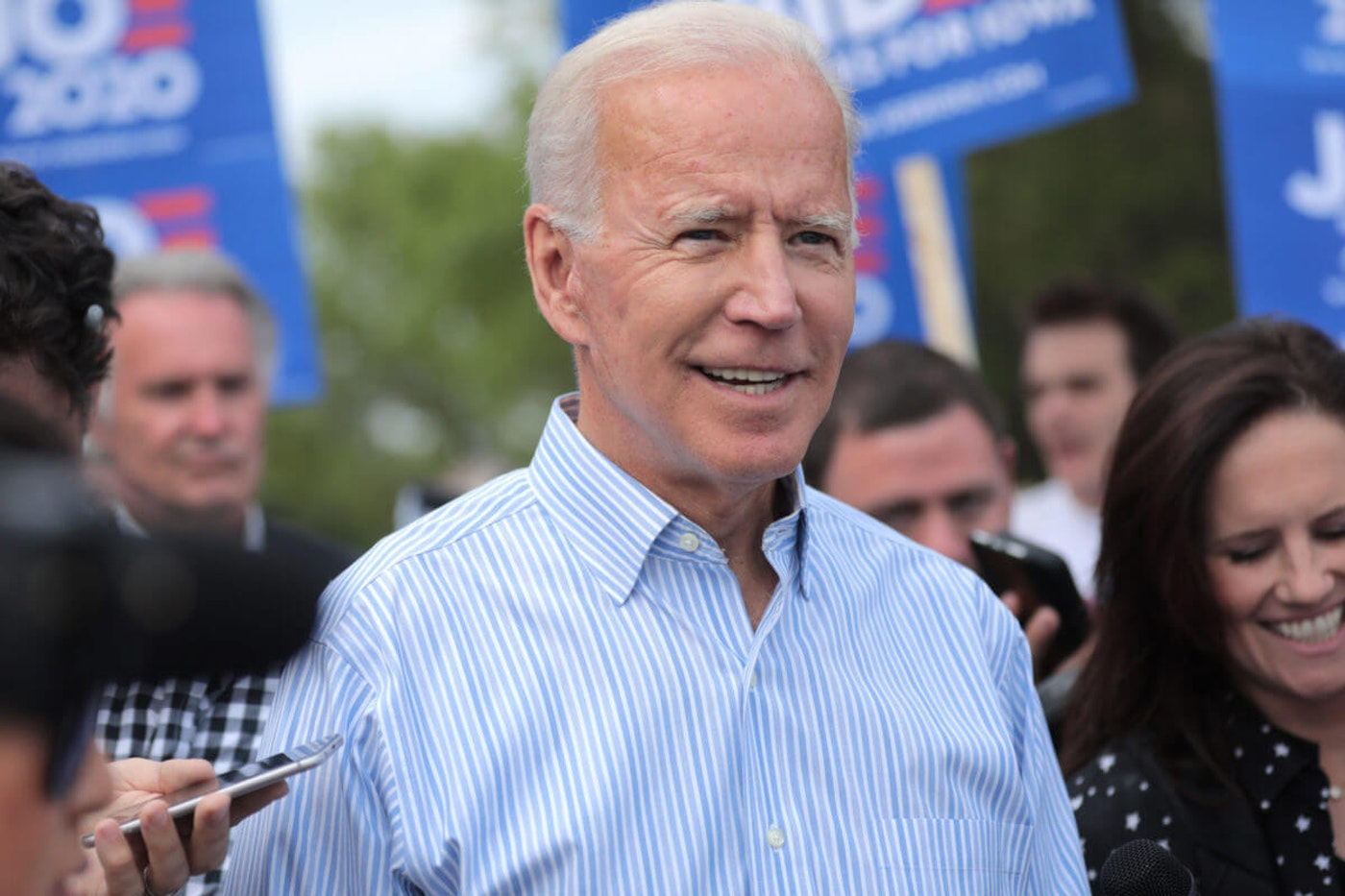By keeping taxes flat for 98% of Americans, Biden says his plan will help lift the working class (Shutterstock).
