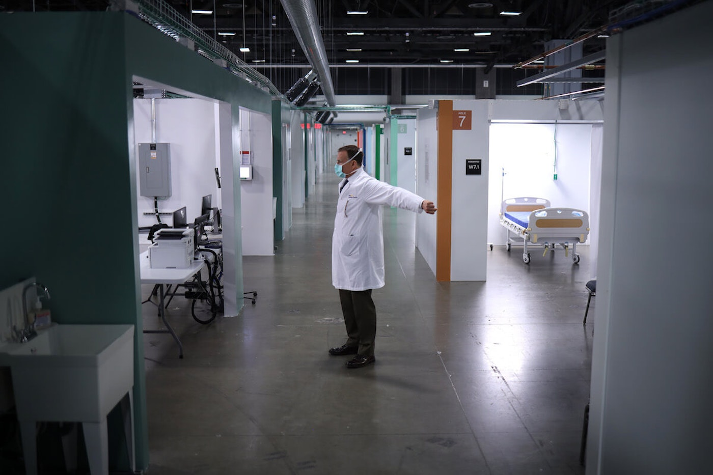 Washington DC Convention Center To Turn Into Facility To Treat COVID-19 Patients