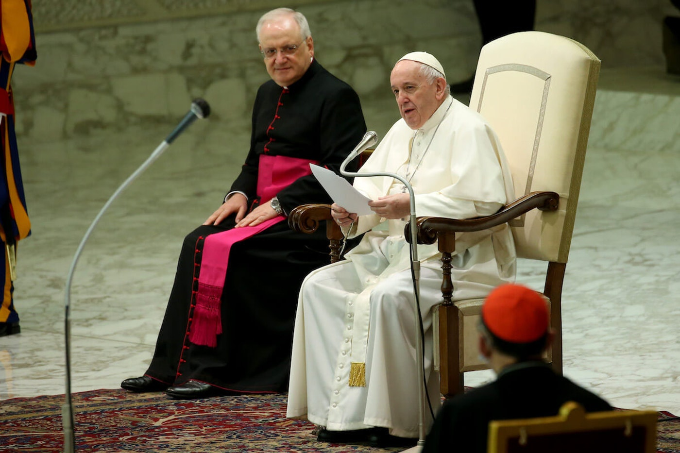 Pope Francis Oct. 21, 2020