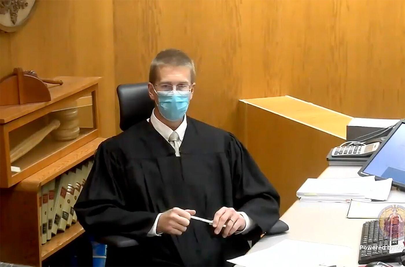 St. Croix County Circuit Court Judge Michael Waterman