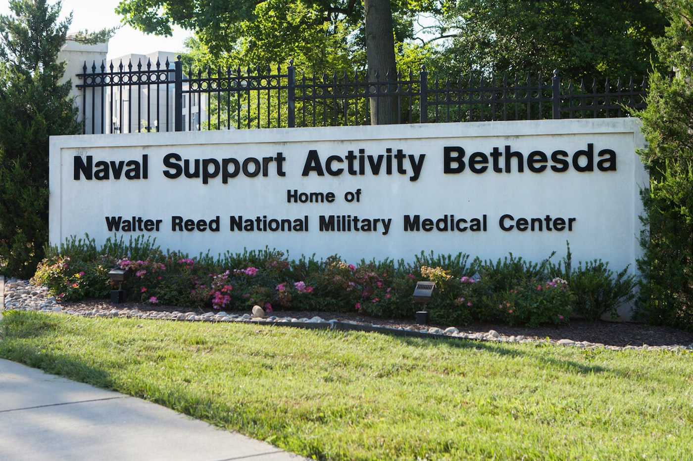 "President Donald Trump will spend a ""few days"" at Walter Reed National Military Medical Center"