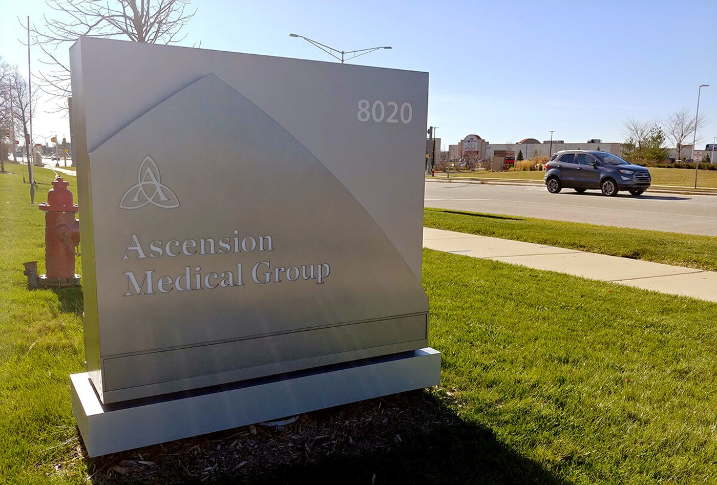 Ascension Wisconsin has launched a clinic inside its existing facility in Oak Creek, a southern Milwaukee suburb, to treat COVID-19 patients with lingering symptoms. (Photo by Jonathon Sadowski)