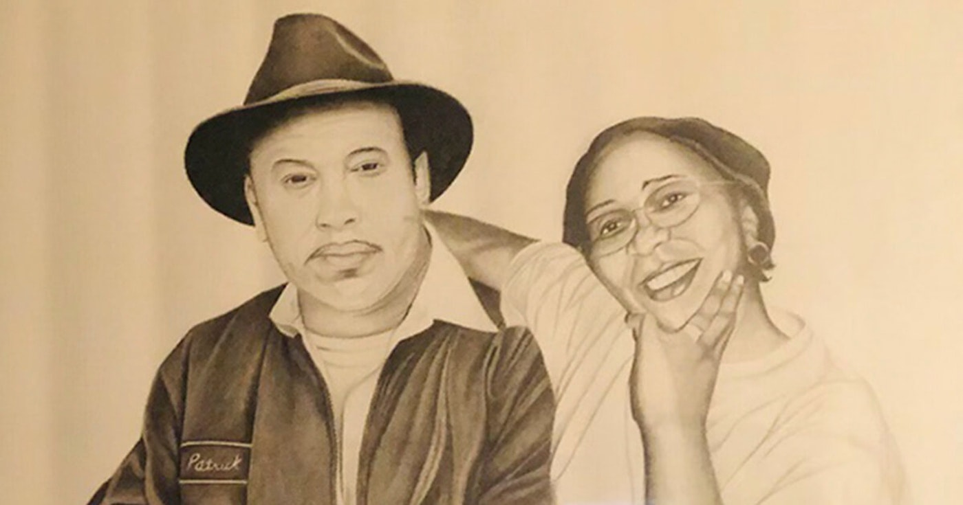"An artist rendering of the late Patrick Alexander and his wife, Irene ""GG"" Alexander. (Photo provided by Lorene Gomez)"