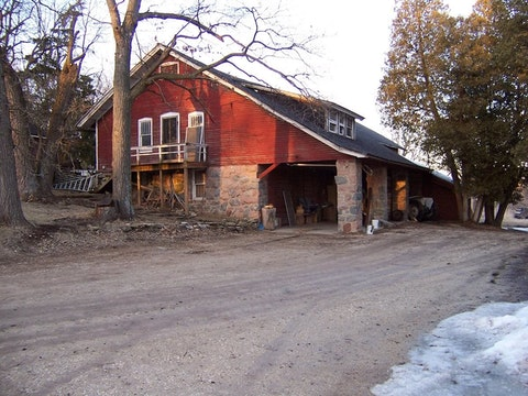 The 114-year-old barn at Ela Orchard was a familiar sight every autumn for apple lovers across southeast Wisconisn.
