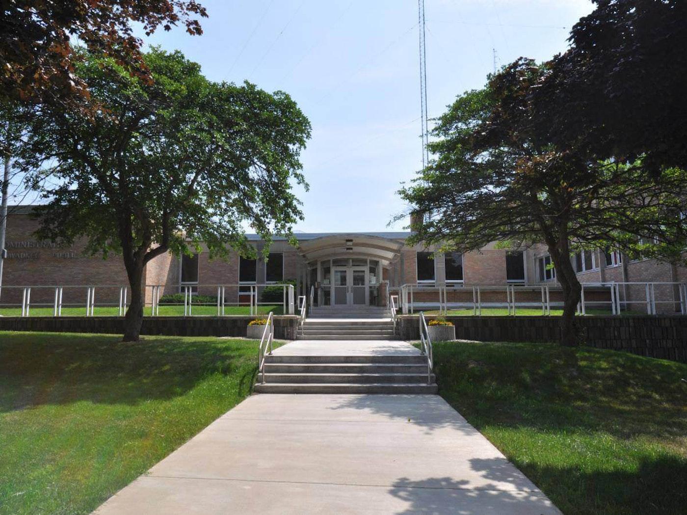 The Milwaukee Public Schools administration building is shown. (Photo via Milwaukee Public Schools/Facebook)
