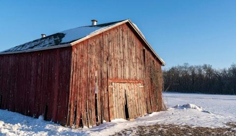 Barns near McFarland