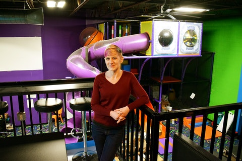 Becky Cooper in Bounce Milwaukee