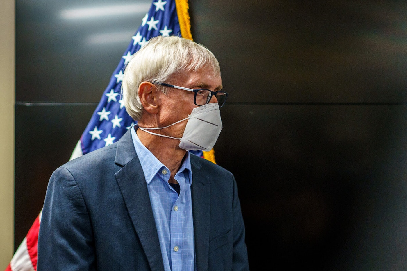 Wisconsin Governor Tony Evers (Photo by KEREM YUCEL/AFP via Getty Images)