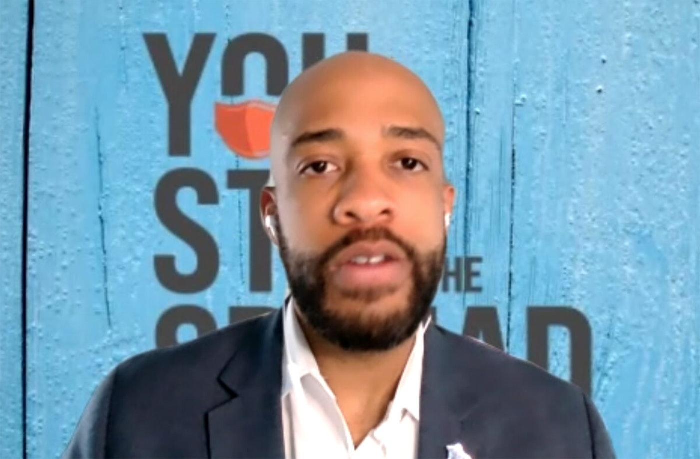 Lt. Gov. Mandela Barnes speaks during a virtual listening session focused on small businesses' economic recovery from the pandemic. (Screenshot)