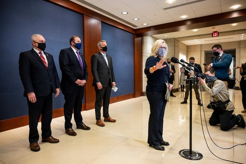 (Photo of Liz Cheney by Bill Clark/CQ-Roll Call, Inc via Getty Images)