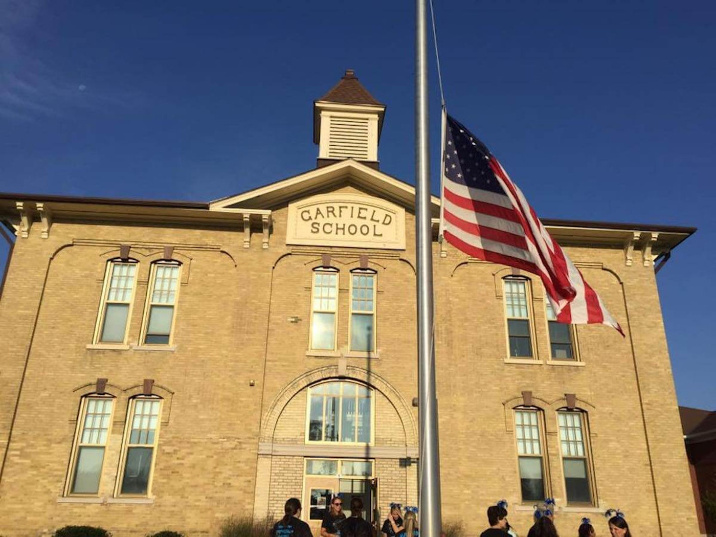 Julian Thomas Elementary School in Racine, built in the 1850s as Garfield School, will receive updates as part of the $1 billion referendum district voters passed in spring 2020. (Photo via Julian Thomas Elementary/Facebook)